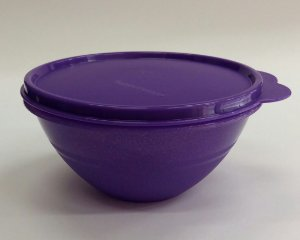 Tupperware Tigela Maravilhosa Com Glitter 500ml - Roxo