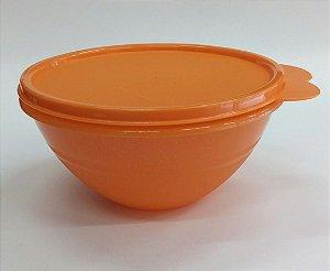 Tupperware Tigela Maravilhosa Com Glitter 750ml - Laranja
