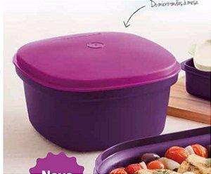 Tupperware Travessa Quadrada Actualité 2,5 Litros  - Púrpura