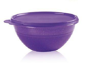 Tupperware Tigela Maravilhosa Com Glitter 2,6 Litros  - Roxo