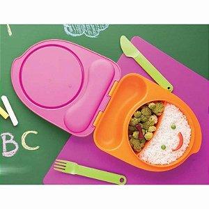 Tupperware Marmita Tupper Kids - Prato Infantil Com Talheres