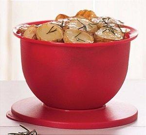 Tupperware Tigela Murano 2,5 Litros - Vermelho