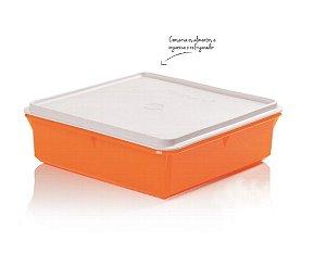 Tupperware Refri Box Versátil 2,5 Litros - Laranja