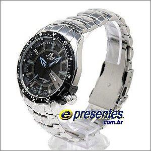 Relógio CASIO Edifice EF-130D-1A2V Pulseira Aço Inox