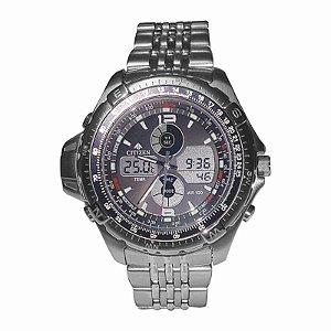 Relógio Masculino Citizen Wingman JS1041-59E Combo TZ10093T