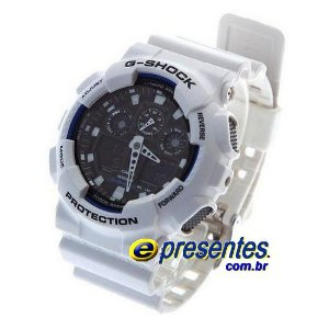 GA-100B-7ADR Relógio Casio G-Shock X-Large Limited, 200m