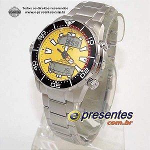 Novo! Relogio Masculino Citizen Aqualand Antimagnetic JP1090-86x