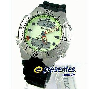 JP1060-01w Relógio Citizen Aqualand II Profundìmetro