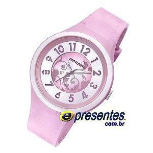 Relógio Mormaii Feminino Tribal 2035TI/8T cor de rosa