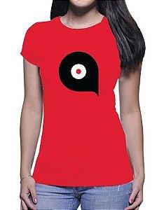 Camiseta Loromudo Feminina Vermelha