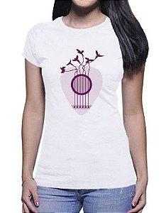 Camiseta Loromudo Feminina Branca