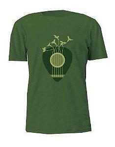 Camiseta Loromudo Masculina Verde