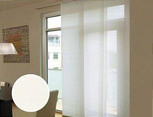 Cortina Painel Tela Screen 5% cor Branco