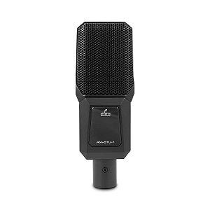Microfone condensador Arcano AM-STU-1 c/ maleta suportes e cabo