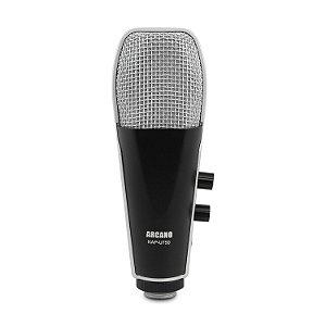 Microfone condensador USB Arcano KAP-U750 com tripé filtro e cabo