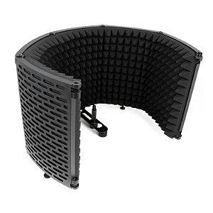 Protetor acústico Arcano ARC-SK25 isolação portátil dobrável