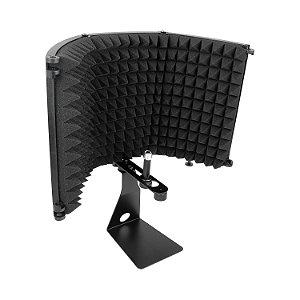 Protetor acústico Arcano ARC-SK1 (STD) c/ suporte isolação portátil dobrável