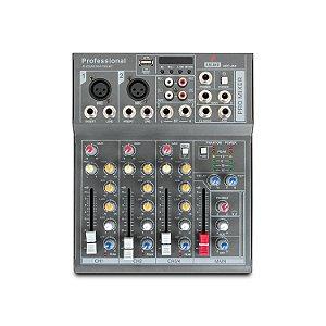 Mesa de som e interface USB Arcano ARC-M4
