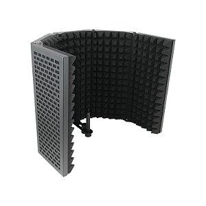 Protetor acústico Arcano ARC-MT5 metal isolação portátil dobrável