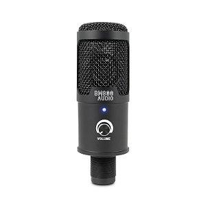 Microfone condensador BM800 AUDIO BM101 c/ suportes USB