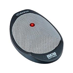 Microfone condensador de mesa USB Alctron USB700 de fronteira