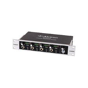 Amplificador de fones Alctron HA400V2 profissional 4 canais