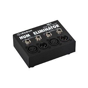 Eliminador de ruído 2 canais Alctron HM-2