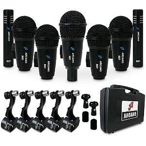 Kit de 7 microfones para bateria Arcano BD7