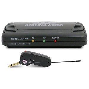 Sistema sem fio General Audio GEN-GT para guitarra e baixo