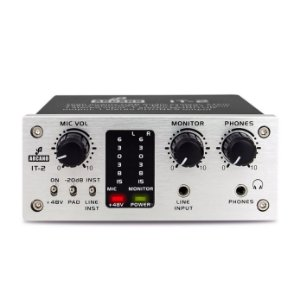 Interface de áudio USB Arcano IT-2 com pre-amp