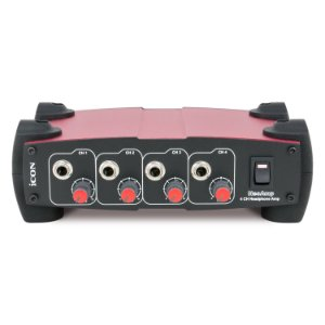 Amplificador de fones iCON NeoAmp (Red) 4 canais 220v