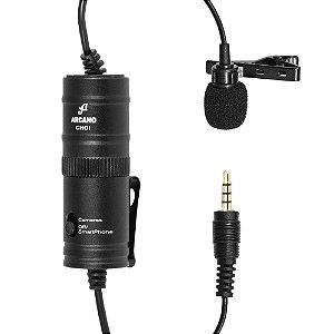 Microfone condensador de lapela Arcano CHOI