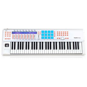 Teclado musical e controladora iCON InSpire 6 G2 61 teclas 5 oitavas USB