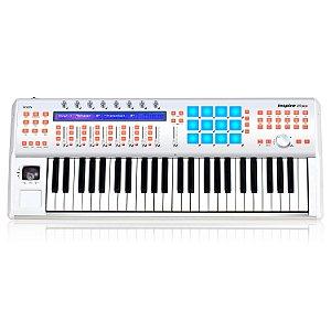 Teclado musical e controladora iCON InSpire 5 G2 49 teclas 4 oitavas USB