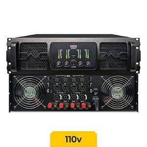 Amplificador de potência Arcano LOXU-4 7000w 4 canais 110v