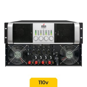 Amplificador de potência Arcano STAERK-4 7000w 4 canais 110v