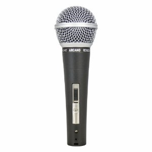 Microfone dinâmico Arcano Renius-8 com fio