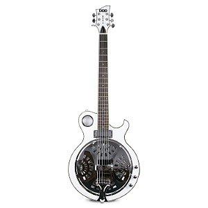 Guitarra acústica DOD Ms. Metalzone violão 6 cordas timbre metálico c/ imperfeições