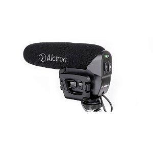 Microfone condensador Alctron VM-6 para câmeras c/ imperfeições
