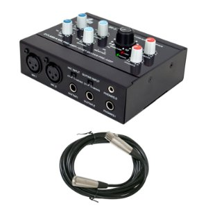 Interface de áudio USB Arcano OT-2 com pre-amp + Cabo XLR-SXB
