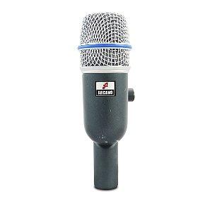 Microfone dinâmico para bateria BT-56 c/ imperfeições