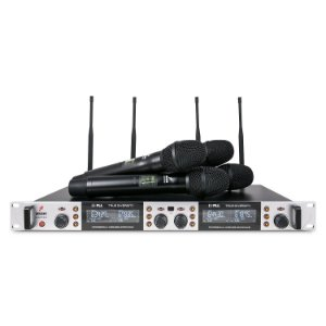 Microfone sem fio quádruplo UHF Arcano Quarter-B