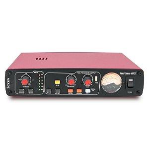 Pré amplificador valvulado iCON ReoTube G2X (Red) 220v c/ phantom power