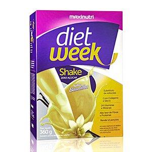 Shake Diet Week Sabor Baunilha 360g - Maxinutri