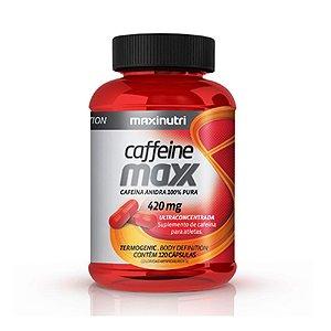 Caffeine Maxx 120 caps - Maxinutri