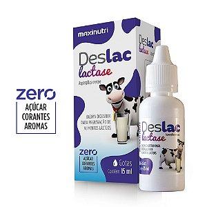 Deslac Lactase 15ml - Maxinutri