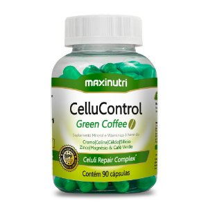 CelluControl Green 90 Cápsulas - Maxinutri