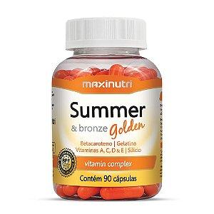 Summer e Bronze Golden 90 Caps - Maxinutri