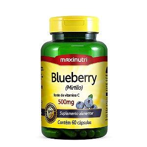 Blueberry 500mg 60 Caps - Maxinutri