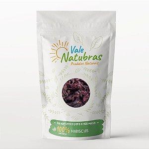 Chá Hibiscus - Hibiscus Sabdariffa 30g - Vale Natubras